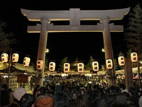 広島護國神社の初詣