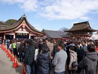 津島神社の初詣