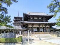 法隆寺の初詣