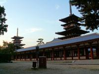 薬師寺の初詣
