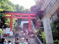 江島神社の初詣