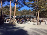 身曾岐神社の初詣