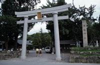 闘けい神社の初詣