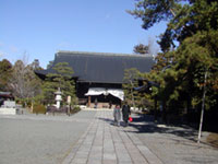 広隆寺の初詣