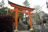 穴八幡神社(穴八幡宮)の初詣
