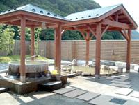 七釜温泉「ゆーらく館」