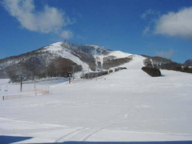 奥 中山 高原 スキー 場